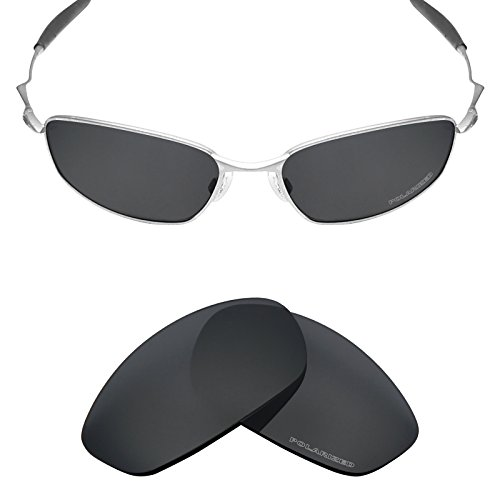 Mryok+ Polarized Replacement Lenses for Oakley Whisker - Stealth - Oakley Replacement Whisker Lenses
