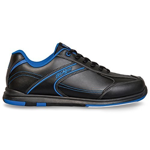 KR Strikeforce M-032-115 Flyer Bowling Shoes, Black/Mag Blue, Size 11.5 by KR
