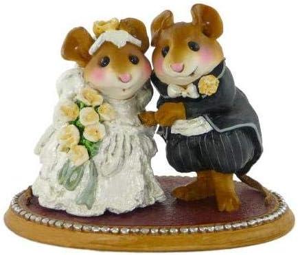 Wee Forest Folk M-200 The Wedding Pair – Cream Roses
