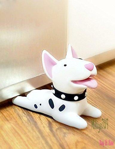 Dog Doorstop Wedge Home Decoration Wooden Dog Door Stopper Terrier ,Christmas ,New Year & Valentine Gift