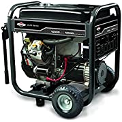 Briggs & Stratton 30207, 10000 Running Watts/12500 Starting Watts, Gas Powered Portable Generator  Discontinued...