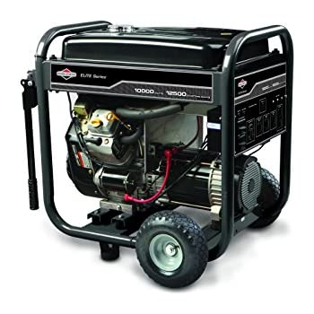 "Briggs & Stratton 30207, 10000 Running Watts/12500 Starting Watts, Gas Powered Portable Generator ""Discontinued by Manufacturer"""