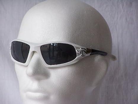 Emeco Biker gangs Tribal Sport Lunettes de soleil beaucoup de couleurs 2131MX, blanc/noir