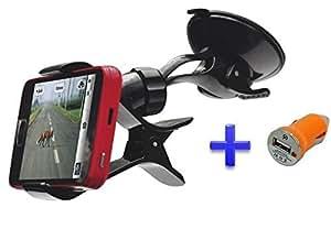 Theoutlettablet® Soporte Universal 360° con Ventosa parabrisas - Accesorio para coches para smartphone Lava X10