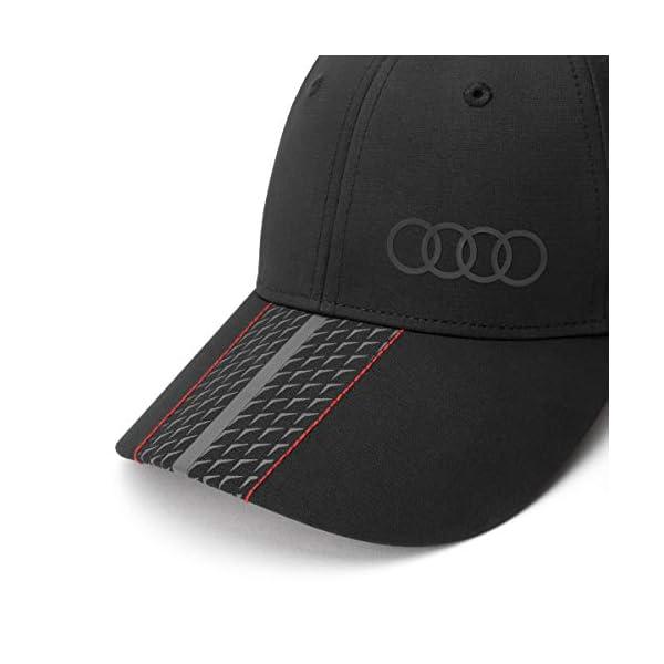 Audi casquette de baseball avec logo audi rouge