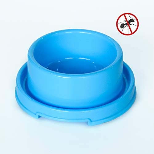 PetLike Dog Bowl, Anti Ant Pet Bowl for Cat Puppies Pet Plastic Water Food Feeder Dish