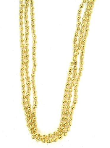 1 Dz Gold Beads 33 7mm