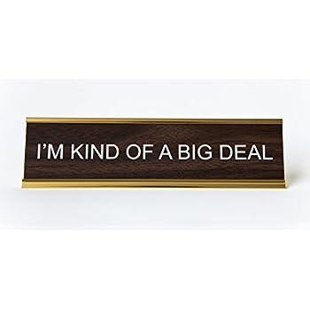 Amazon Com Funny Desk Plate For Boss Gag Gift Kitchen