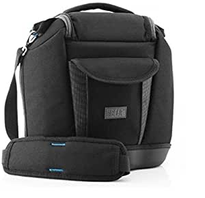Deluxe Camera Bag by USA Gear - Works With Cameras from Canon , Nikon , Pentax , Fujifilm , Sony and Many Other DSLR , Mirrorless & Point and Shoot Cameras with Zoom Lenses and Accessories