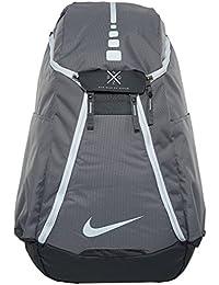 newest 0f3ef 4522b Hoops Elite Max Air Team 2.0 Basketball Backpack Charcoal Dark Grey White