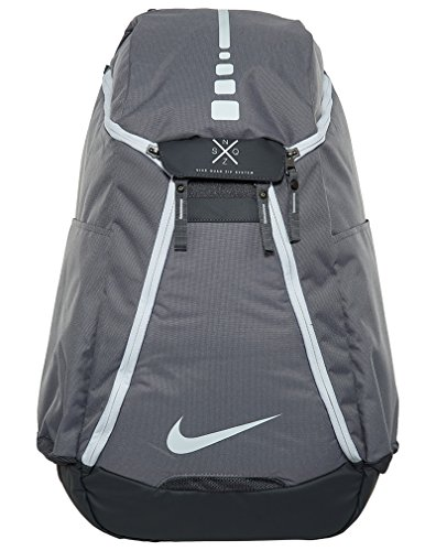 f98ae0d12157 Nike Hoops Elite Max Air Team 2.0 Basketball Backpack Charcoal Dark  Grey White