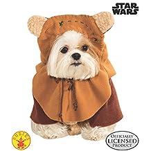 Rubie's Star Wars Ewok Disfraz para Mascota, Ewok, Ewok, Pequeño