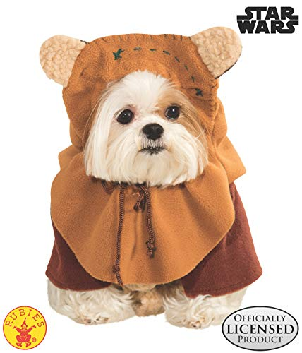 Cute Shih Tzu Halloween Costumes (Rubie's Star Wars Ewok Pet Costume,)