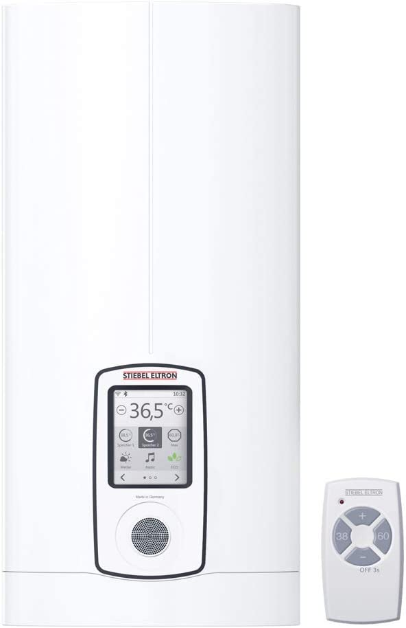 Stiebel Eltron Dhe Connect 27, Vollelektronischer Durchlauferhitzer, 27 kW, druckfest, 46,8 x 22,5 x 10,5 cm, 234468