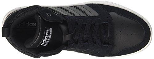 adidas Herren CF Super Hoops Mid Laufschuhe Schwarz (Core Black/core Black/rose Crystal White)