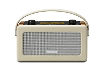 Roberts Vintage DAB/DAB+/FM RDS Portable Radio with Built in Battery ...