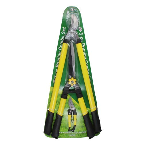 H.B. Smith Tools 3-Piece Pruner Set for Lawn and Garden ()