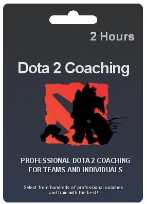 Dota 2 Coaching Gift Card - 2 Hours