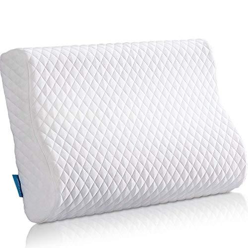 NOFFA Memory Foam Pillows - Ergonomic Orthopedic Contour Pillow - Best...