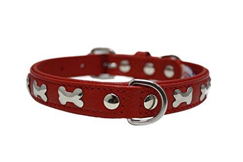 D-ring Dog Bones (Leather