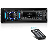 BOSS Audio 616UAB Multimedia Car Stereo – Single Din LCD,...