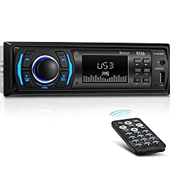Boss Audio 616uab Car Stereo, Single Din, Bluetooth, Usbmp3wma Amfm Radio