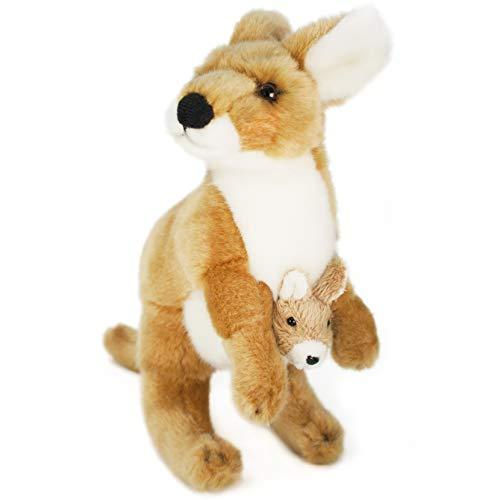 VIAHART Keswick The Kangaroo | 10 Inch Stuffed Animal Plush | by Tiger Tale Toys ()