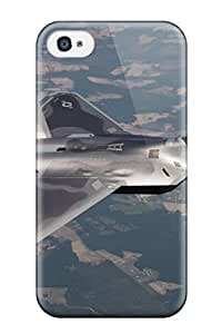 Iphone 4/4s Case Cover - Slim Fit Tpu Protector Shock Absorbent Case (aircraft )