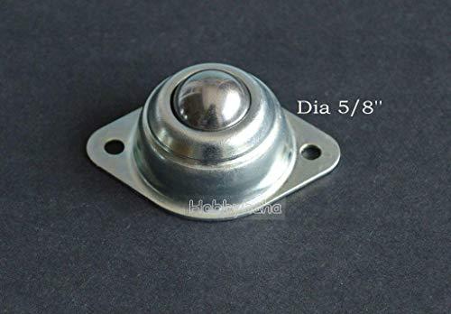 - FidgetKute 10pcs Dia 5/8'' CY-15A Ball Metal Transfer Bearing Unit Conveyor Roller New Show One Size