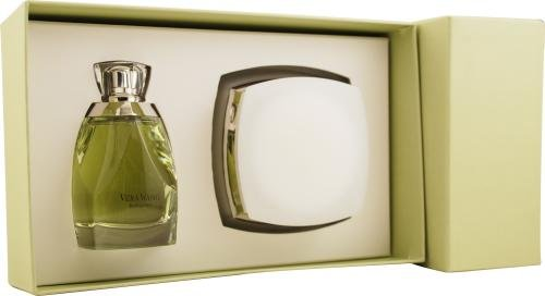 Vera Wang Bouquet by Vera Wang for Women. Set-Eau De Parfum Spray 3.4-Ounces & Body Cream 6.7-Ounces (Body Wang Cream Vera)