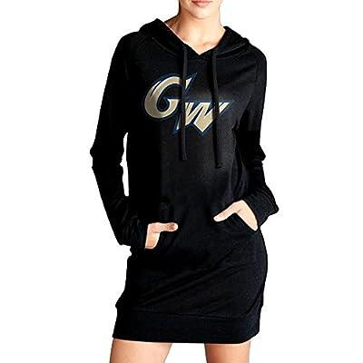 ABU George GW Logo Washington University Women's Long Sweater With Pocket