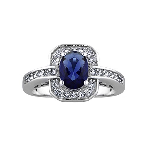 Heirloom Inspired Jewelry: Meena's Antique Blue CZ (Heirloom Inspired Jewelry)