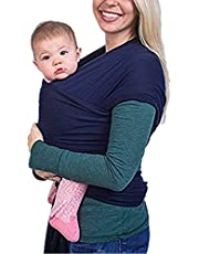 Baby Carrier Sling Elastic for Newborns and Toddlers, Baby Carrier Sling for Baby Newborns Within 16 kg by VOARGE