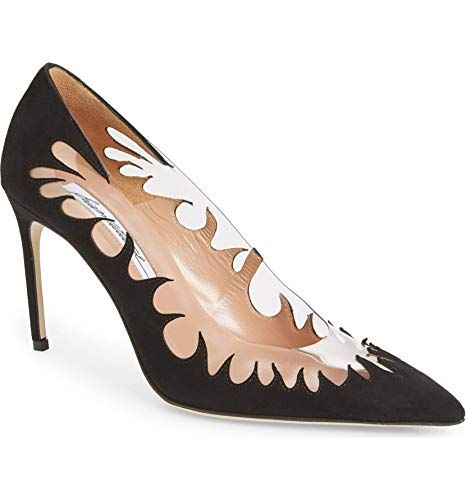 Cutout Pointy Toe Pump (40.5, Black) ()