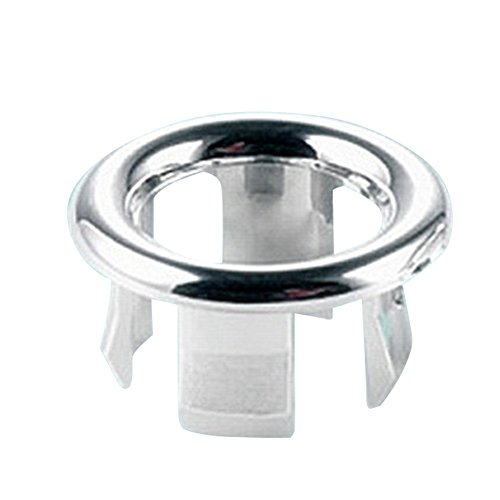 Amazon.com: Sink Round Ring Overflow Spare Cover Tidy Chrome Trim Bathroom Ceramic Basin(Oval): Home Improvement