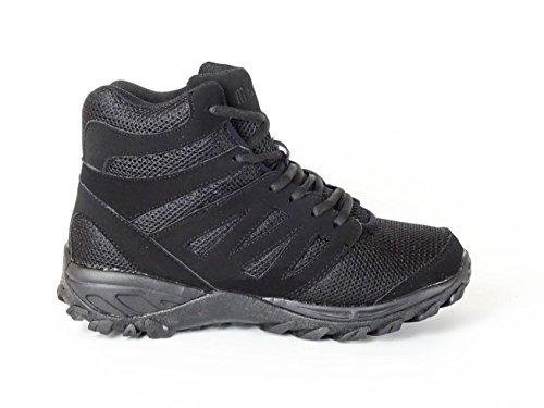 Men's Lace Walking Black Emey Mt 9713 Atheletic Boot Oxwpqf6q