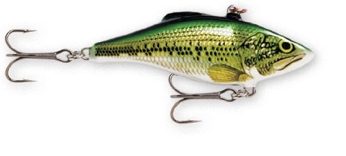 Cheap Rapala Rattlin' Rapala 08 Fishing lure, 3.125-Inch, Baby Bass