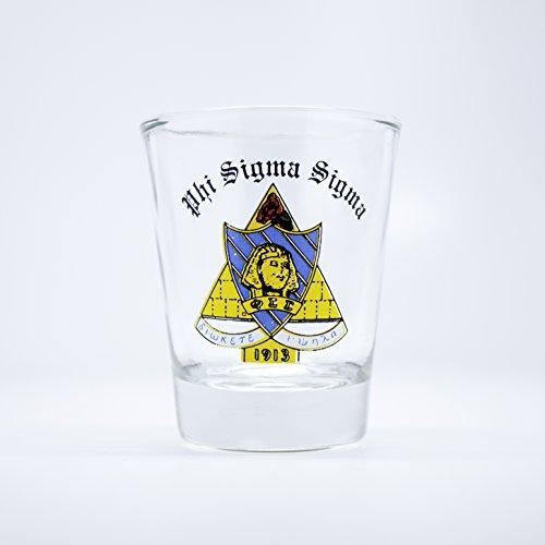 (Phi Sigma Sigma Shot Glass)