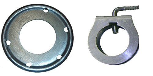 Guy Wire Clamp - ROHN Guy Ring and Clamp Assembly for up to 2