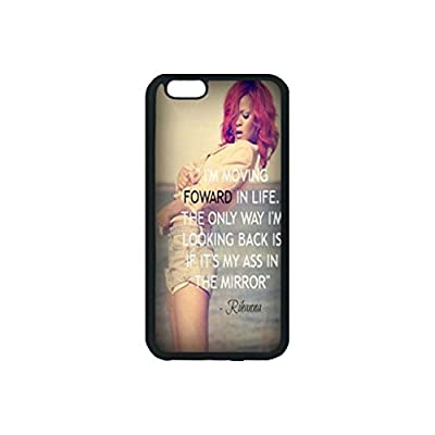 Fashion Rihanna Custom Personalized Rubber Phone Case Cover For iphone 6 plus 6s plus inch by Tree Bay Design