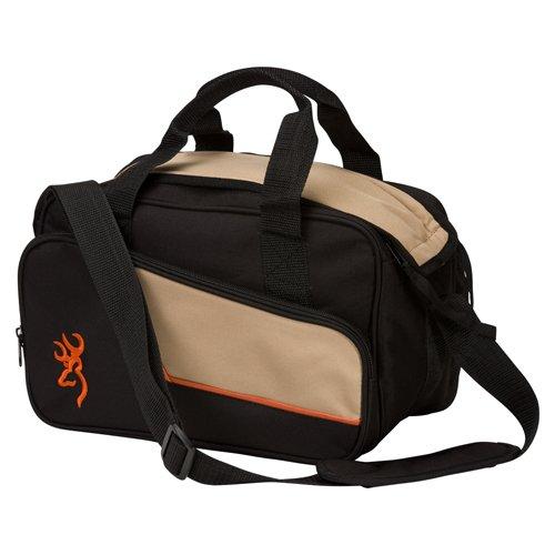 Browning 121040093 Cimmaron II Bag, Two-Pistol Range Bag, black