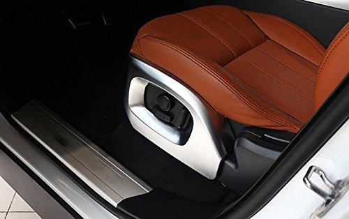METYOUCAR ABS Chrome Car Interior Seat Side Cover Frame Trim For Land Rover Range Rover Vogue SE Range Rover Sport 2014-2017