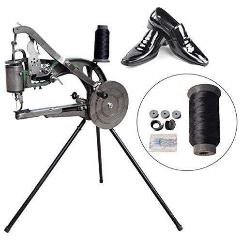 (ETE ETMATE Hand Machine Cobbler Shoe Repair Machine Dual Cotton Nylon Line Sewing Machine )