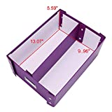 "Snap-N-Store Double Wide CD Storage Box, 6.125"" x"
