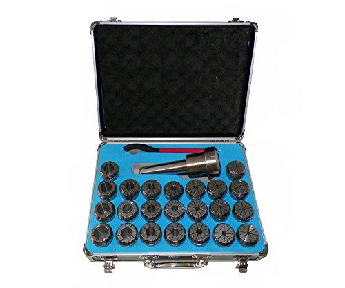 Collet Chuck Holder - MT4 ER40 Collet Chuck Tool Holder Set 23 Pcs ER40 Collets Holder