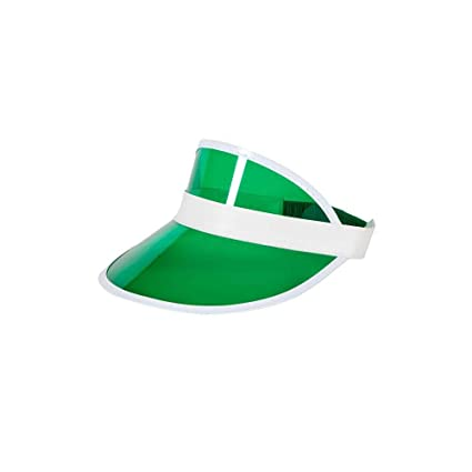 6394400d150 Image Unavailable. Image not available for. Color  Casino   Pub Golf Visor  Hat Fancy Dress Adult One size Costume