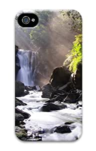 iPhone 4S Case & Cover - Nei Dong Waterfall 3D Custom Designer iPhone 4S/4 Case - Polycarbonate - Hard Back Case Cover