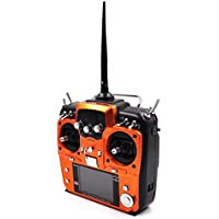 MuLuo RadioLink AT10II Remote Control System 2.4G 10CH Transmitter with R12DS Receiver Voltage Return Module for Model Aircraft