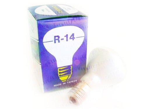 (R14 25W E17 Frosted Reflector Flood Light Bulb Intermediate Base 120V (12/pack))