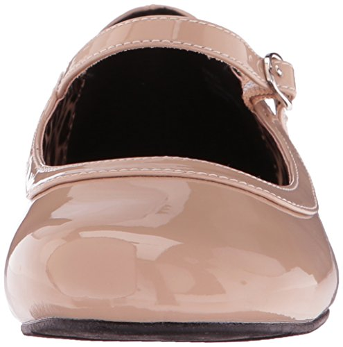 Sandal Pat Platform Women's Dress SKY309 Pleaser Cream M Bpu R1YHpqqO